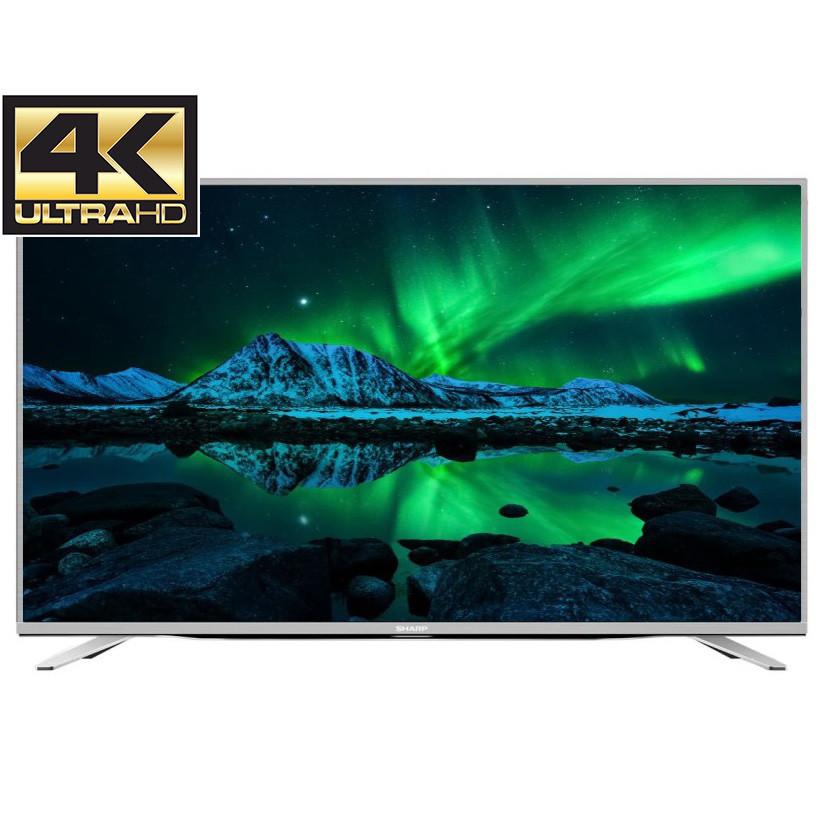 Телевизор Sharp LC-55CUF8472ES (AM600Гц, Ultra HD 4K, Smart TV, Wi-Fi, DVB-T2/S2)