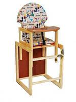 Детский деревянный стол стульчик