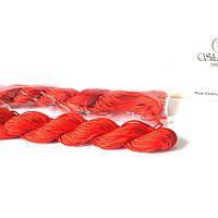 Шнур(d1мм) для браслетов Шамбала и не только. Классический. Красный, отличного качества