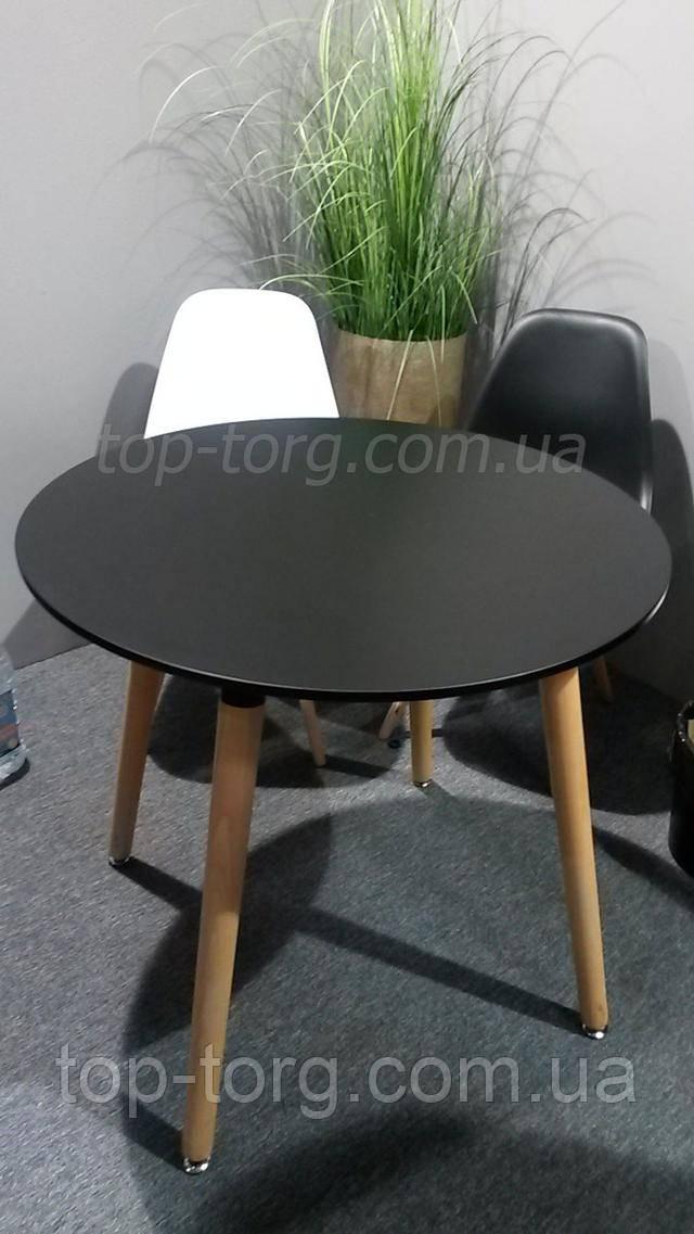 Стол DT-9017  NOLAN III круглый черный