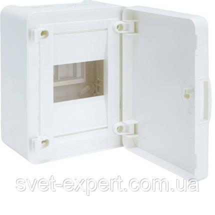 Щит з/у з білими дверцятами, 4 мод. (1х4), GOLF, фото 2