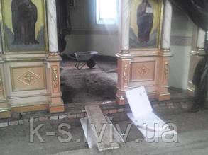 опалення церкви с. Угри