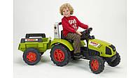 Трактор CLAAS ARION 430 c прицепом Falk 1040B
