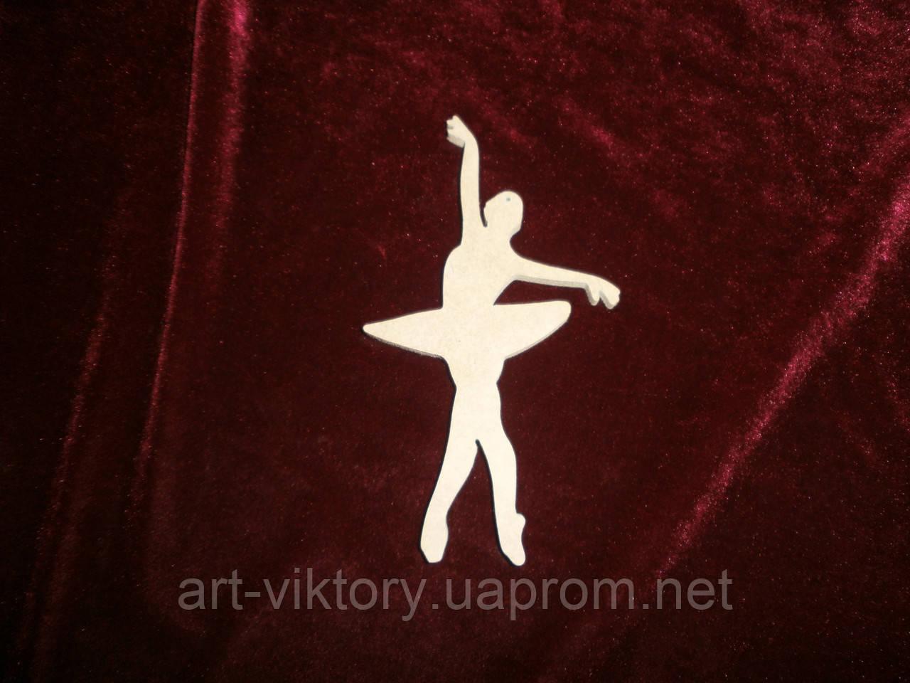 Балерина (высота 14 см), декор
