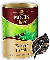Чорний листовий чай «Magik Tea Forest Fresh», 100г