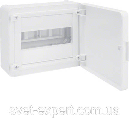 Щит з/у з білими дверцятами, 8 мод. (1х8), GOLF, фото 2