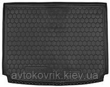 Полиуретановый коврик в багажник SsangYong Kyron 2005- (с органайзером) (AVTO-GUMM)