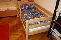 Кровать детская подростковая Тимошка 80*160 с защитным бортиком