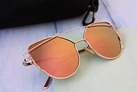 Зеркальные солнцезащитные очки  , фото 1
