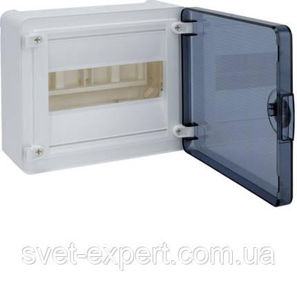 Щит з/у з  прозорими дверцятами, 8 мод. (1х8), GOLF, фото 2
