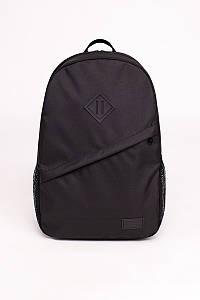Стильний рюкзак чорний Urban Planet B8 BLACK 30л. 45x29.5x13см.