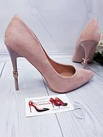 Лодочки туфли пудра,пинк,нежно розовые классические туфли, фото 1