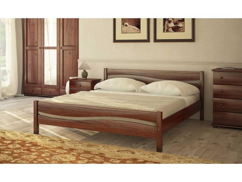✅ Деревянная кровать Л-215 120х190 см ТМ Скиф