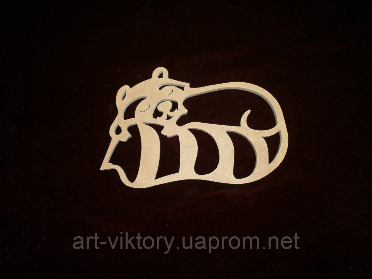 Енот (15,5 х 11 см), декор