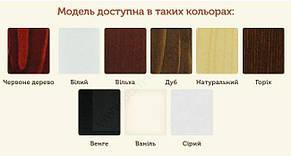 ✅ Деревянная кровать Л-215 120х190 см ТМ Скиф, фото 2