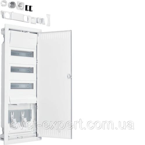 Volta.Hybrid: щит в/у 36мод. + 1 панель для ММ сталеві двері