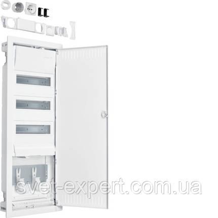 Volta.Hybrid: щит в/у 36мод. + 1 панель для ММ сталеві двері, фото 2