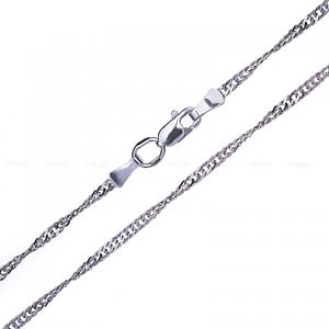Тонкие серебряные цепочки