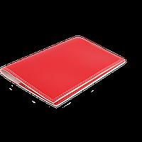 Обкладинка на паспорт червоного кольору