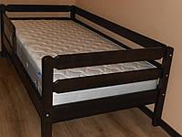 Кровать венге дерево Тимошка 90*190 с бортиком