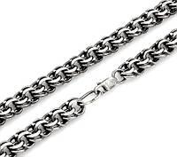 Серебряные большие цепи