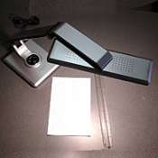 Настольная лампа LED office TL 1203 10w серебристая