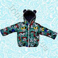Курточка для девочки демисезонная Мила (1-3 года)