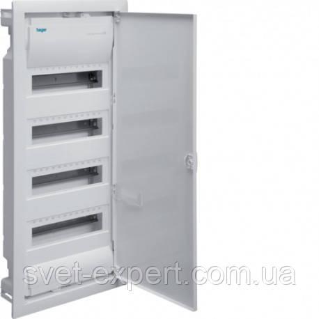 Щит на 48(56) модулів в/у з металевими дверями без клем VOLTA