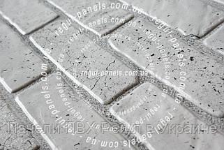 Декоративные панели КИРПИЧ «СТАРЫЙ СЕРЫЙ», фото 3