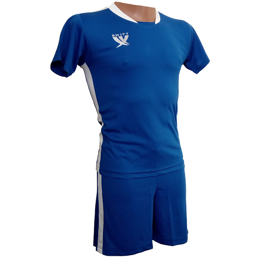 Детская футбольная форма Swift PRIORITET (сине-белая)
