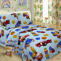 Детская постельная ткань поплин ш.150 Кубики