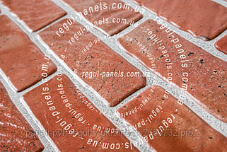 Стеновая панель из пвх КИРПИЧ «СТАРЫЙ КРАСНЫЙ», фото 3