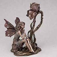 Підсвічник Veronese Фея у квітки 20 см 10281 A4