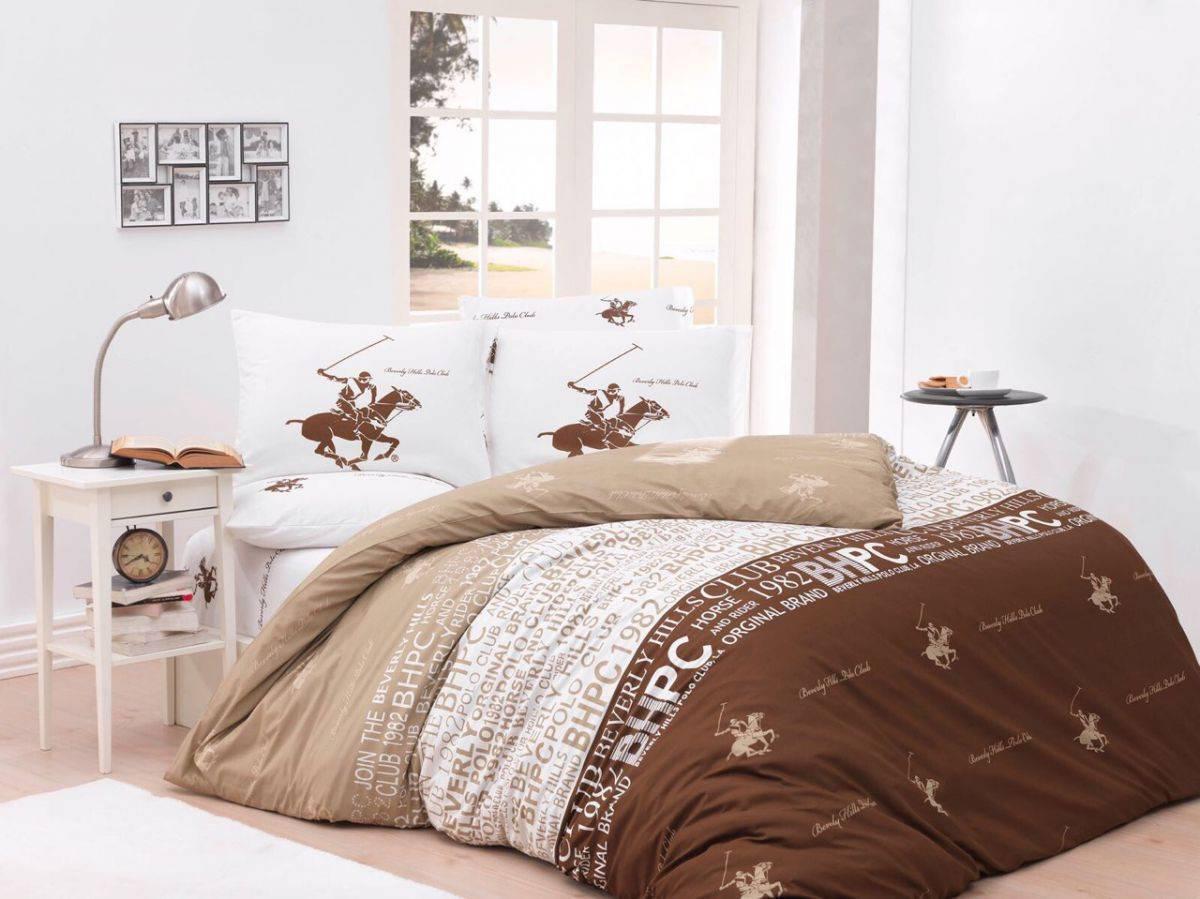 Постельное белье BHPC 004 brawn двуспальный - евро