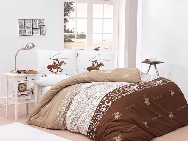 Постельное белье BHPC 004 brawn двуспальный - евро, фото 2