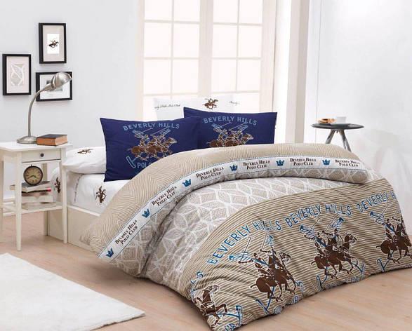 Постельное белье BHPC 007 bieje двуспальный - евро, фото 2