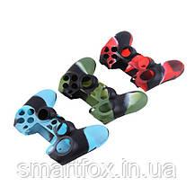 Силиконовый чехол для джойстика PS4 многоцвет, фото 3