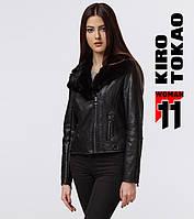 11 Kiro Tokao | Куртка женская весенне-осенняя 4428 черный-черный