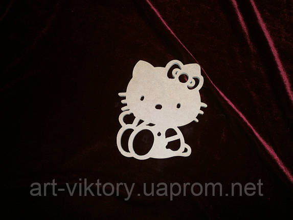 Кішечка Hello Kіtty (14,5 х 12 см), декор, фото 2