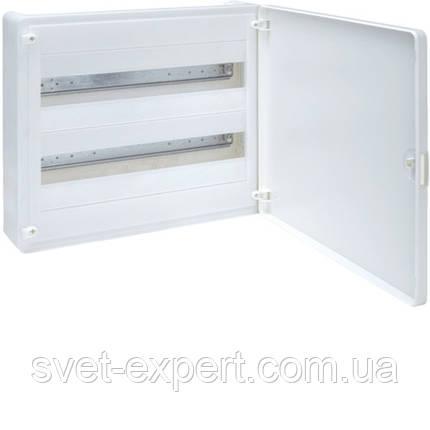 Щит з/у з білими дверцятами, 36 мод. (2х18), GOLF, фото 2