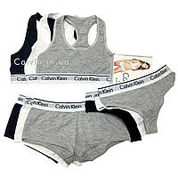 Женское белье Calvin Klein тройка