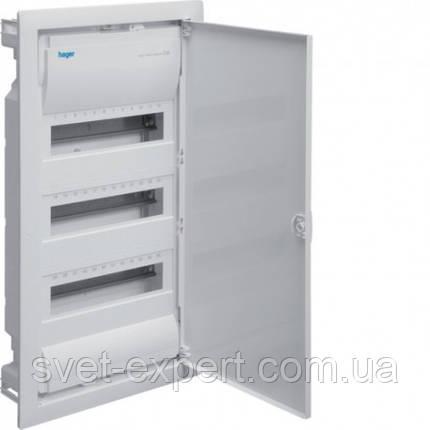 Щит на 36(42) модулів в/у з металевими дверями без клем VOLTA, фото 2