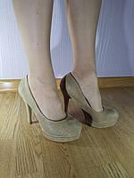 Туфли на каблуке Baldini Beige 3789