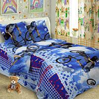 Детская постельная ткань поплин ш.150 BMX