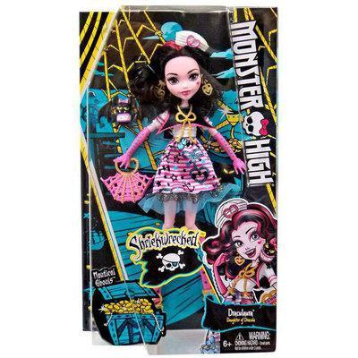 Дракулаура Кораблекрушение Кукла Монстр Хай Monster High Shriekwrecked Nautical Ghouls Draculaura Doll