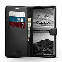 Книжка-Чехол Spigen для Samsung Note 8 Wallet S, Black , фото 1