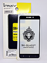 Защитное стекло Ipaky 4D Xiaomi Redmi 4A Black