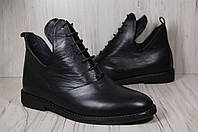 Кожаные женские высокие туфли Венгрия
