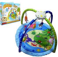Детский музыкальный коврик Морские животные 898-28HB