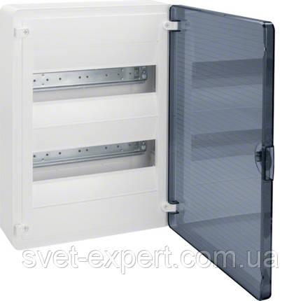 Щит з/у з  прозорими дверцятами, 36 мод. (2х18), GOLF, фото 2